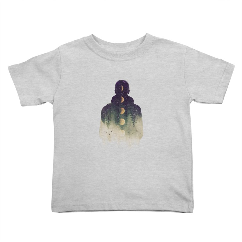Night Air Kids Toddler T-Shirt by Buko