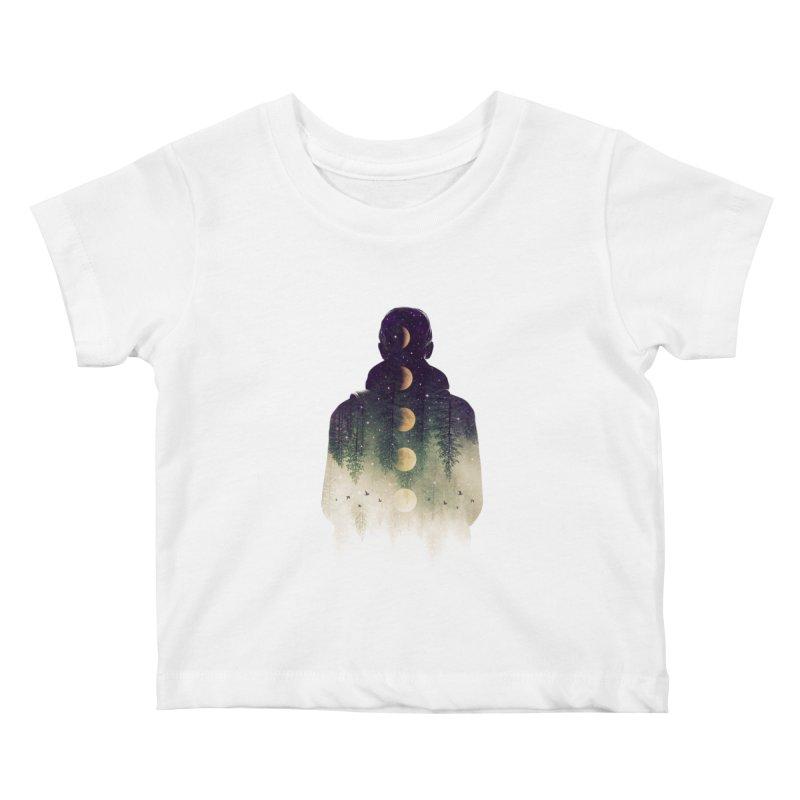 Night Air Kids Baby T-Shirt by Buko