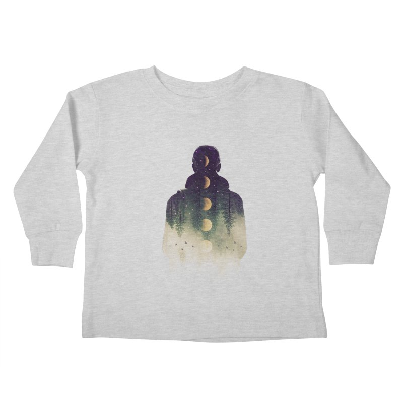 Night Air Kids Toddler Longsleeve T-Shirt by Buko