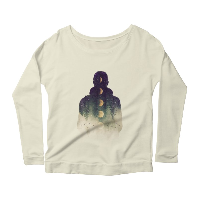 Night Air Women's Longsleeve Scoopneck  by Buko