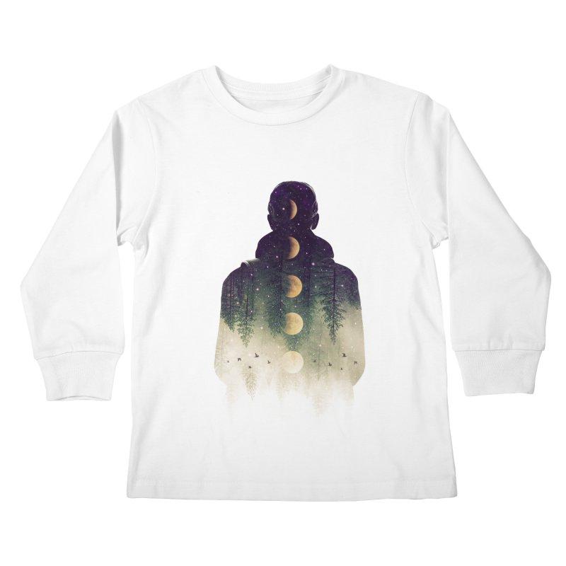 Night Air Kids Longsleeve T-Shirt by Buko