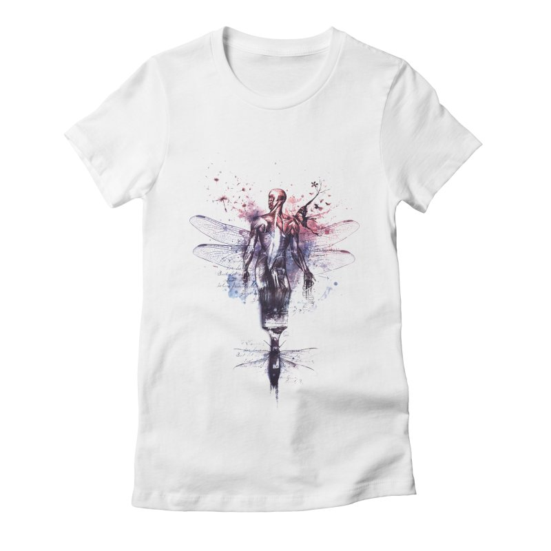 Metamorphose Women's Fitted T-Shirt by Buko