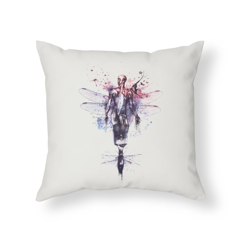 Metamorphose Home Throw Pillow by Buko