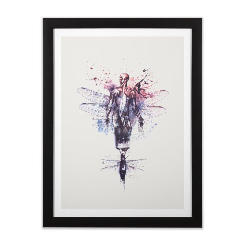 Metamorphose Home Framed Fine Art Print by Buko