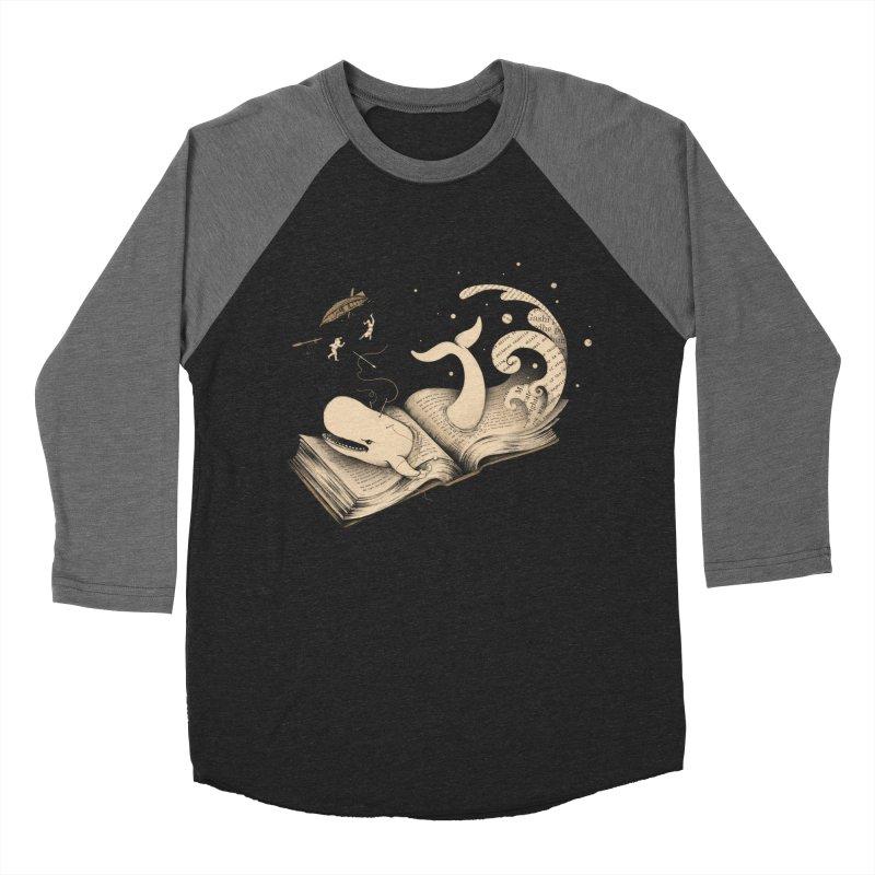 Moby Men's Baseball Triblend T-Shirt by Buko