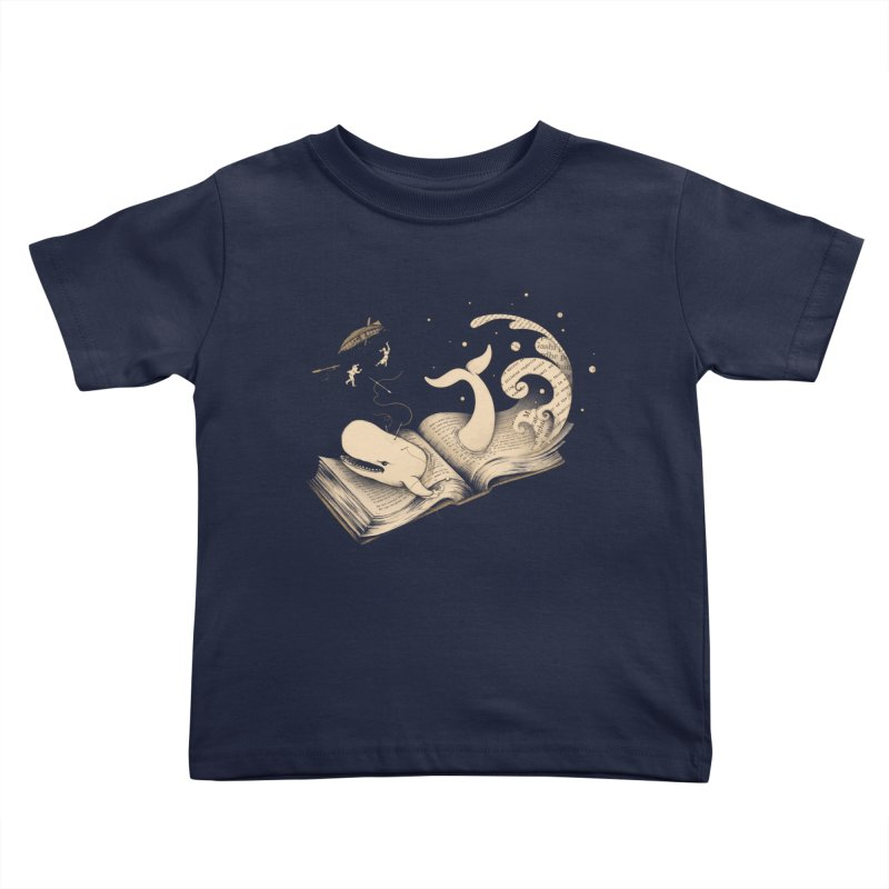 Moby Kids Toddler T-Shirt by Buko
