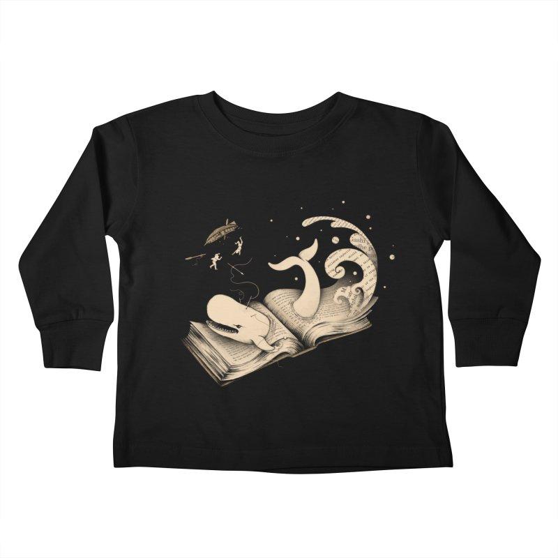 Moby Kids Toddler Longsleeve T-Shirt by Buko