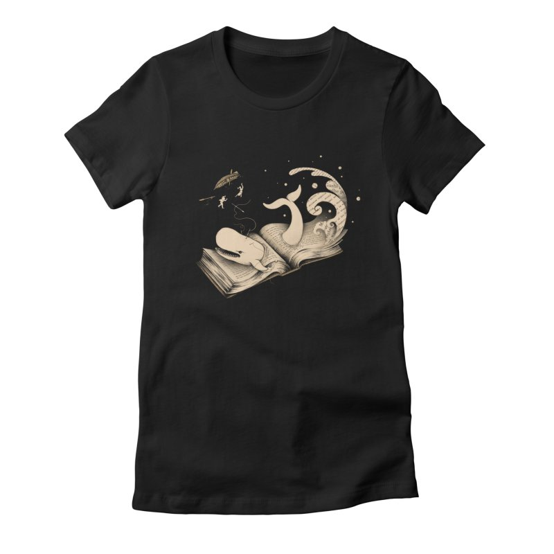 Moby Women's Fitted T-Shirt by Buko