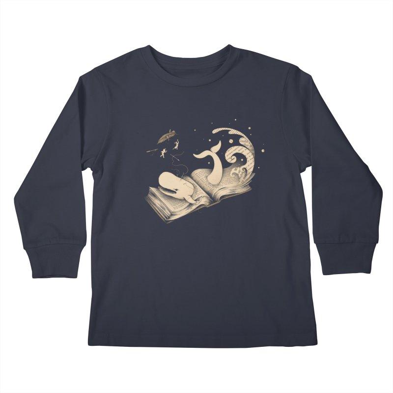 Moby Kids Longsleeve T-Shirt by Buko