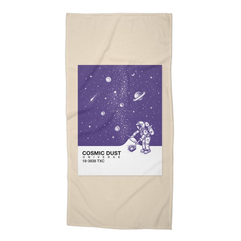 Cosmic Dust Accessories Beach Towel by Buko
