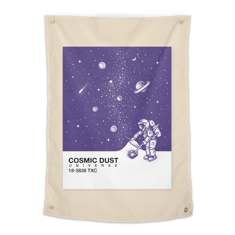 Cosmic Dust Home Tapestry by Buko