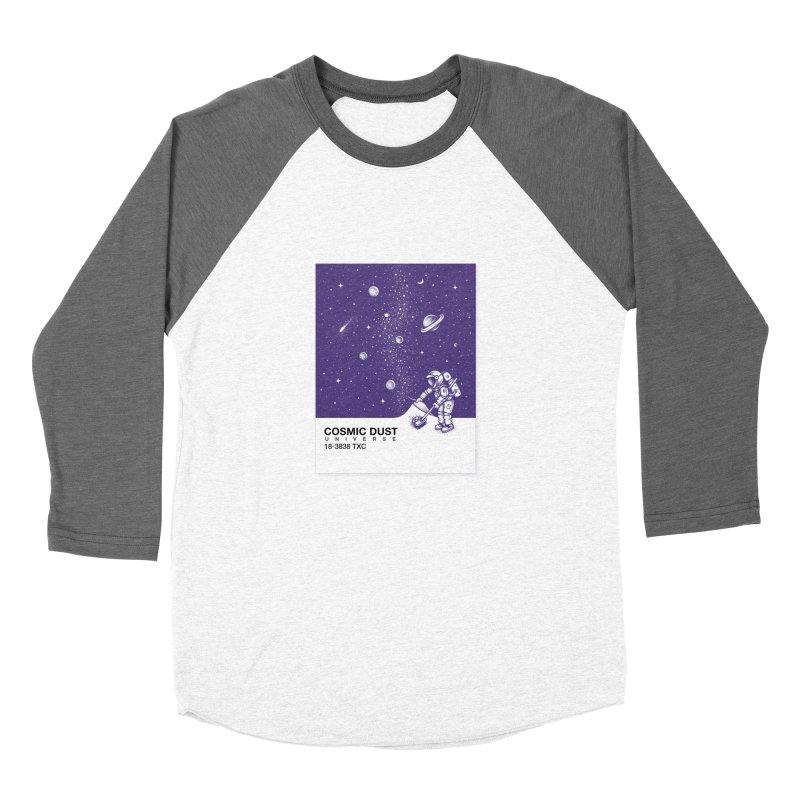 Cosmic Dust Men's Baseball Triblend T-Shirt by Buko