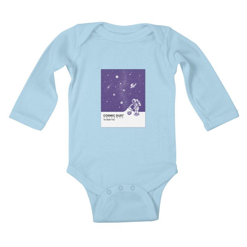 Cosmic Dust Kids Baby Longsleeve Bodysuit by Buko
