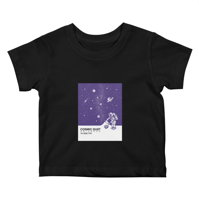 Cosmic Dust Kids Baby T-Shirt by Buko