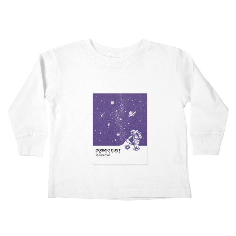 Cosmic Dust Kids Toddler Longsleeve T-Shirt by Buko