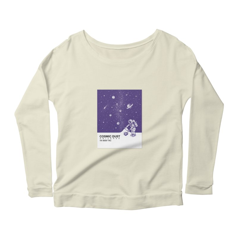Cosmic Dust Women's Longsleeve Scoopneck  by Buko