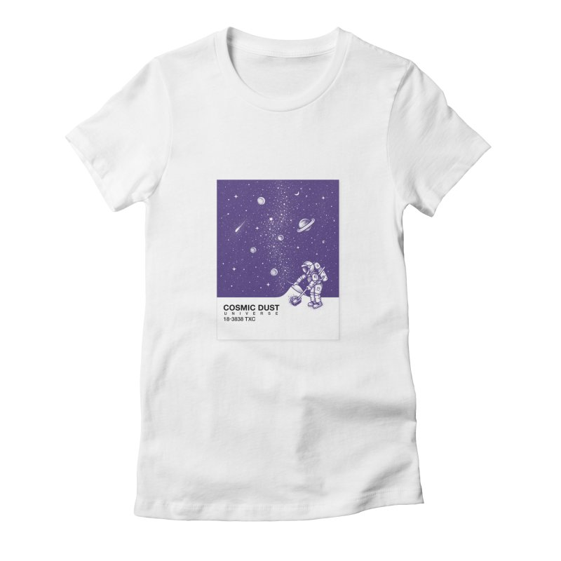 Cosmic Dust Women's Fitted T-Shirt by Buko