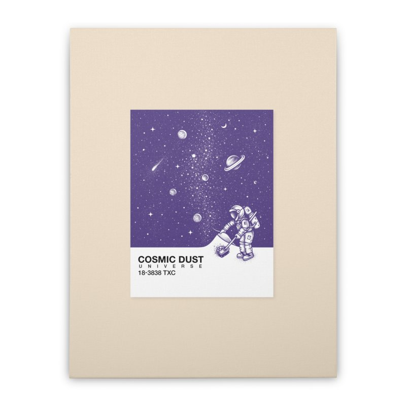 Cosmic Dust Home Stretched Canvas by Buko