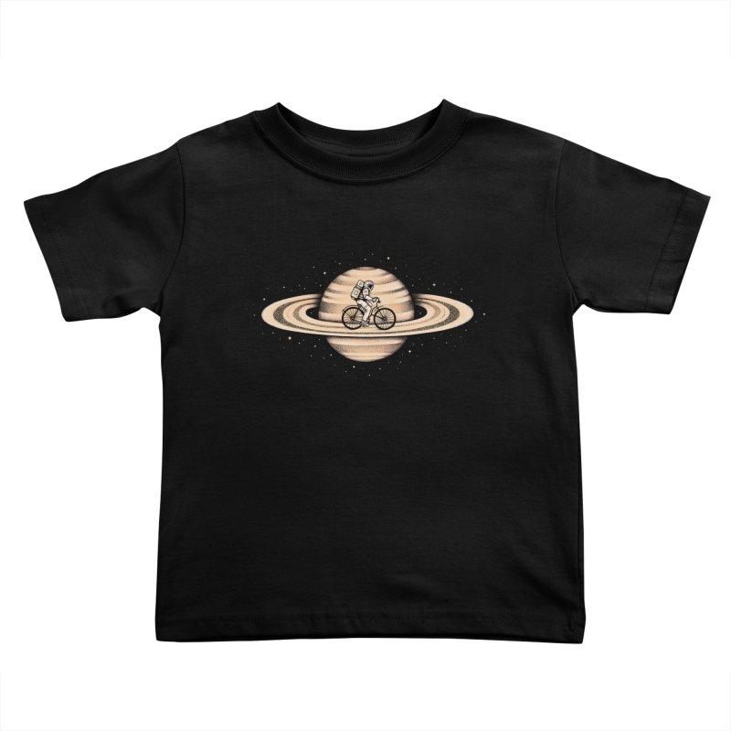 Space Ride Kids Toddler T-Shirt by Buko