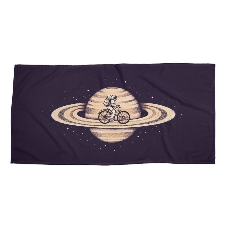 Space Ride Accessories Beach Towel by Buko