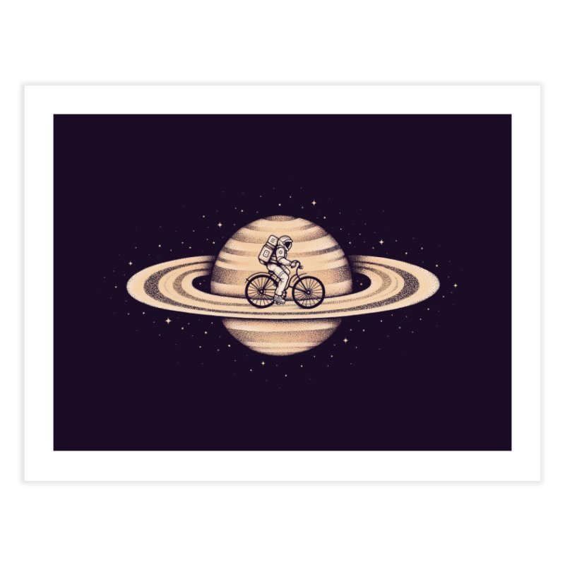 Space Ride Home Fine Art Print by Buko