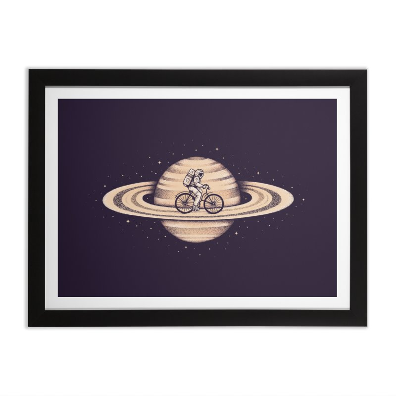 Space Ride Home Framed Fine Art Print by Buko