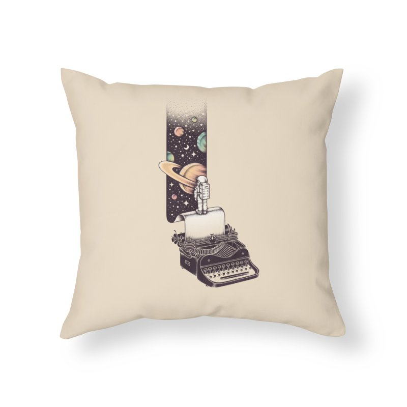 Beyond Your Imagination Home Throw Pillow by Buko