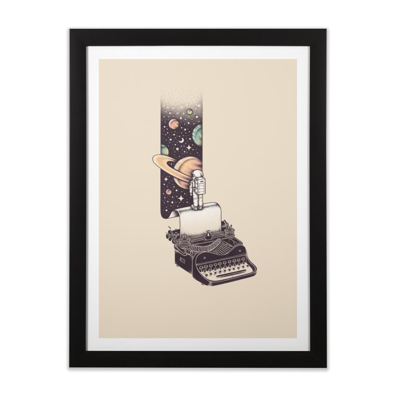 Beyond Your Imagination Home Framed Fine Art Print by Buko