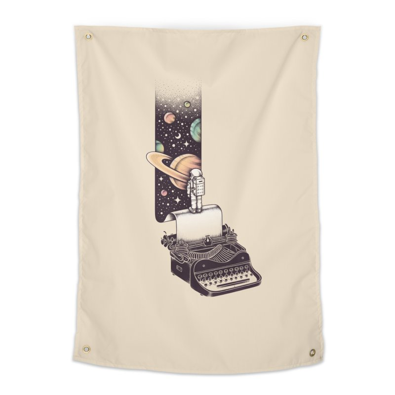 Beyond Your Imagination Home Tapestry by Buko