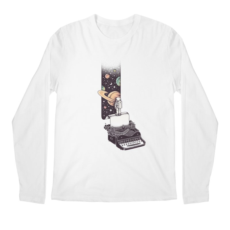 Beyond Your Imagination Men's Longsleeve T-Shirt by Buko