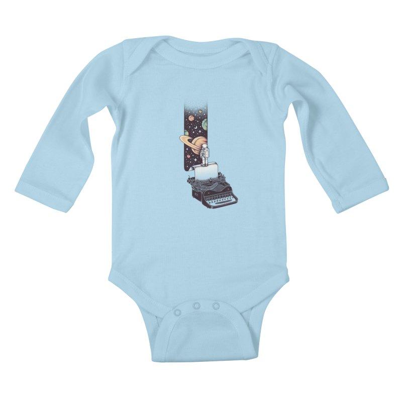 Beyond Your Imagination Kids Baby Longsleeve Bodysuit by Buko