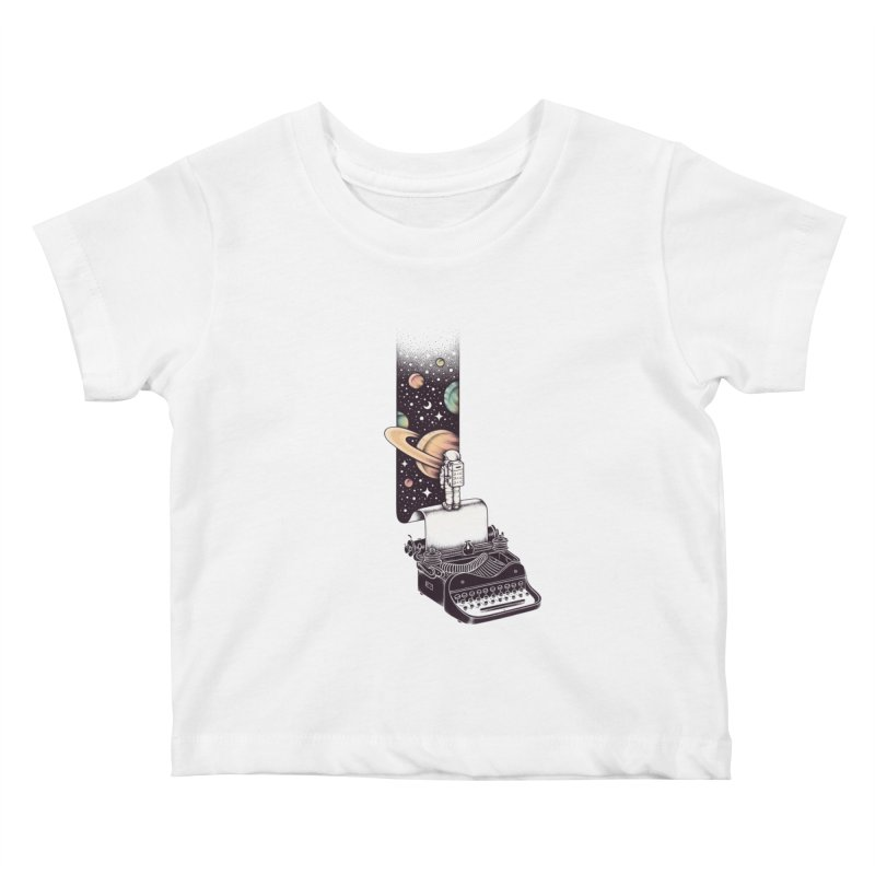Beyond Your Imagination Kids Baby T-Shirt by Buko