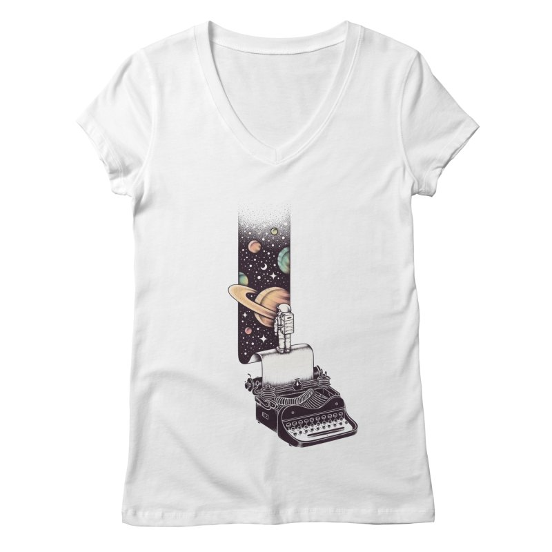 Beyond Your Imagination Women's V-Neck by Buko