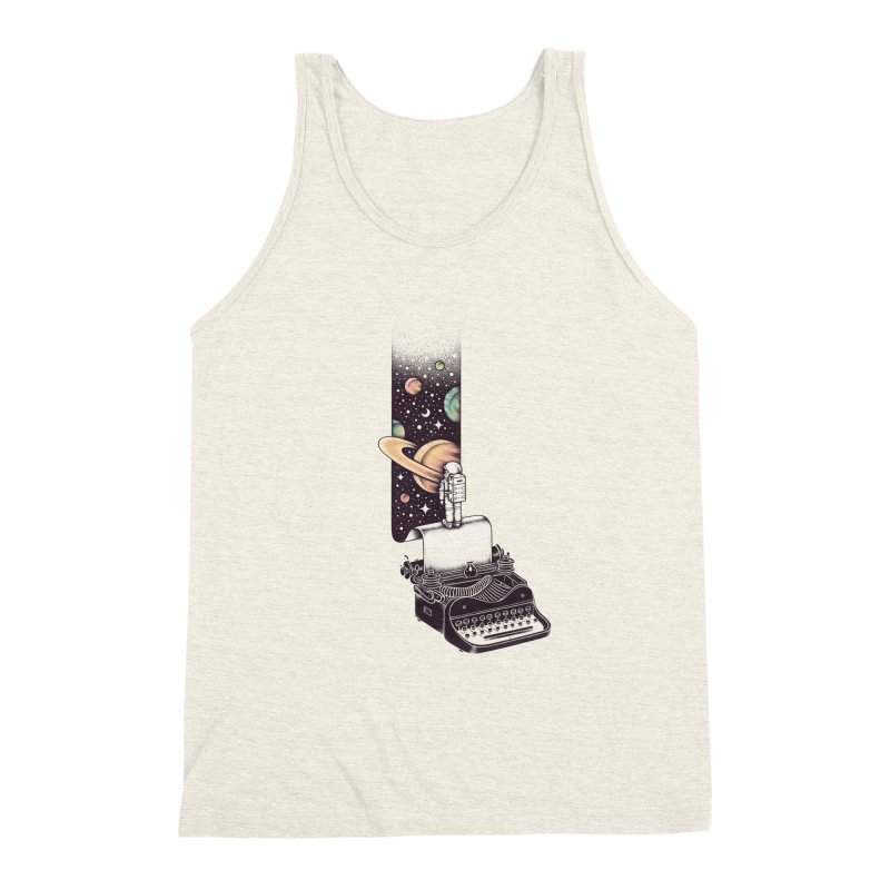 Beyond Your Imagination Men's Triblend Tank by Buko