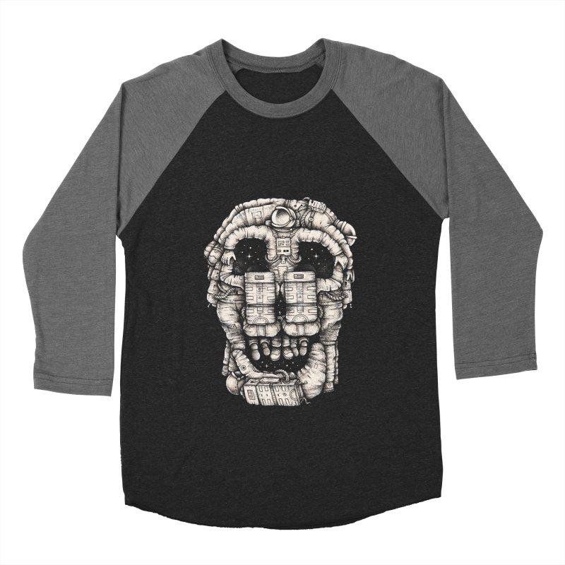 Voluptuous Death Men's Baseball Triblend T-Shirt by Buko