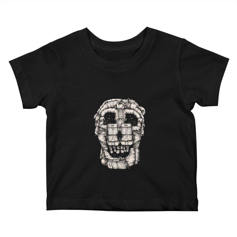 Voluptuous Death Kids Baby T-Shirt by Buko