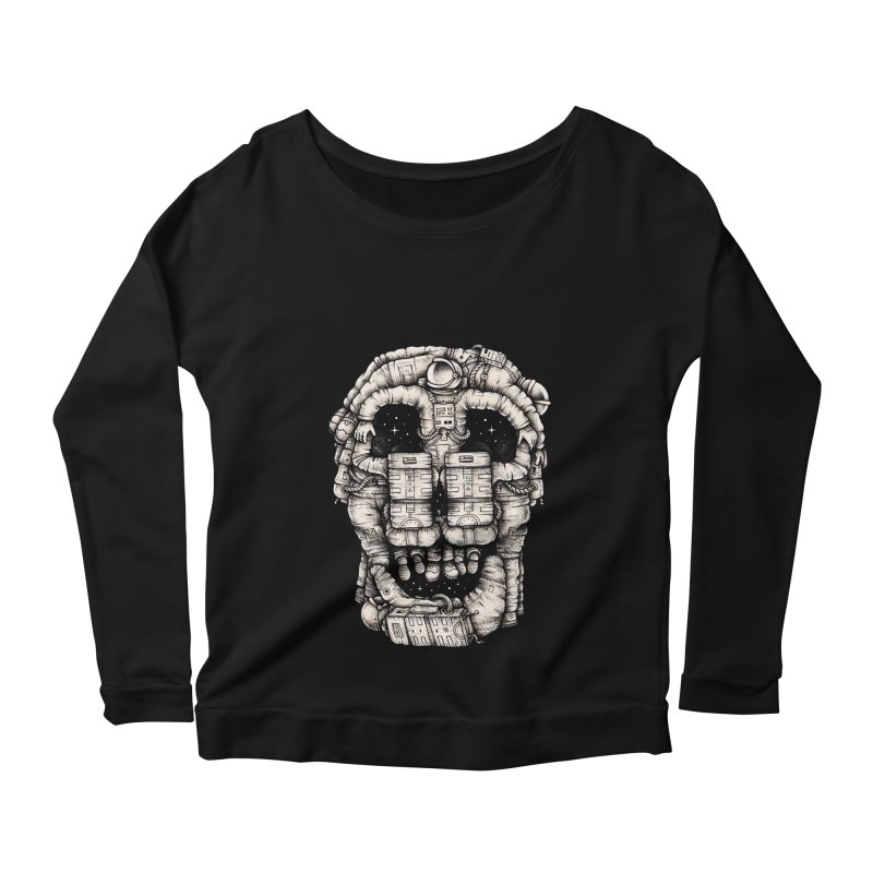 Voluptuous Death Women's Longsleeve Scoopneck  by Buko