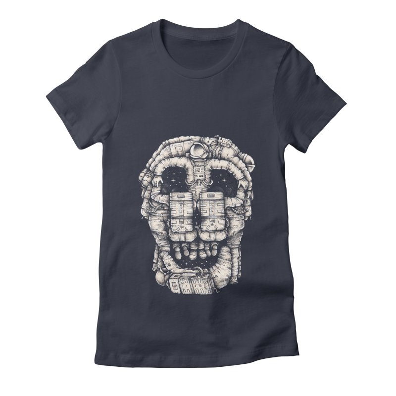 Voluptuous Death Women's Fitted T-Shirt by Buko