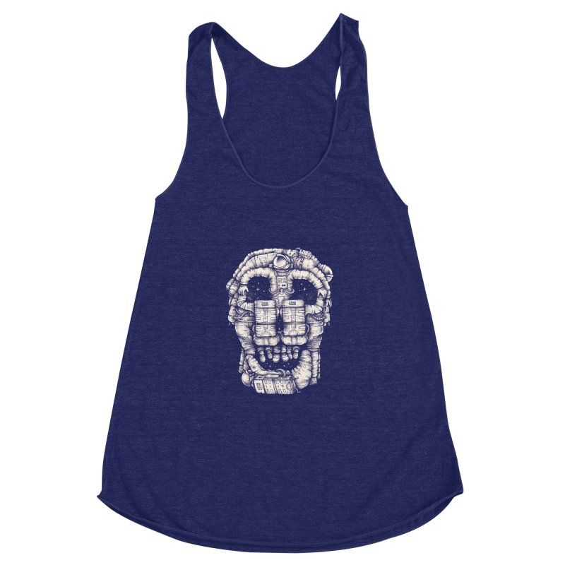 Voluptuous Death Women's Racerback Triblend Tank by Buko