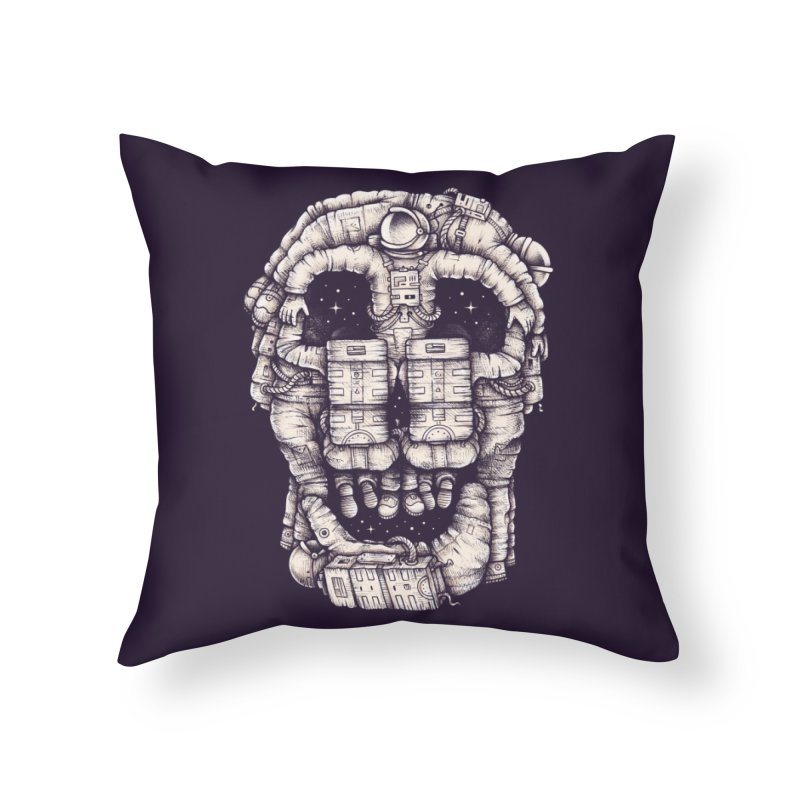 Voluptuous Death Home Throw Pillow by Buko