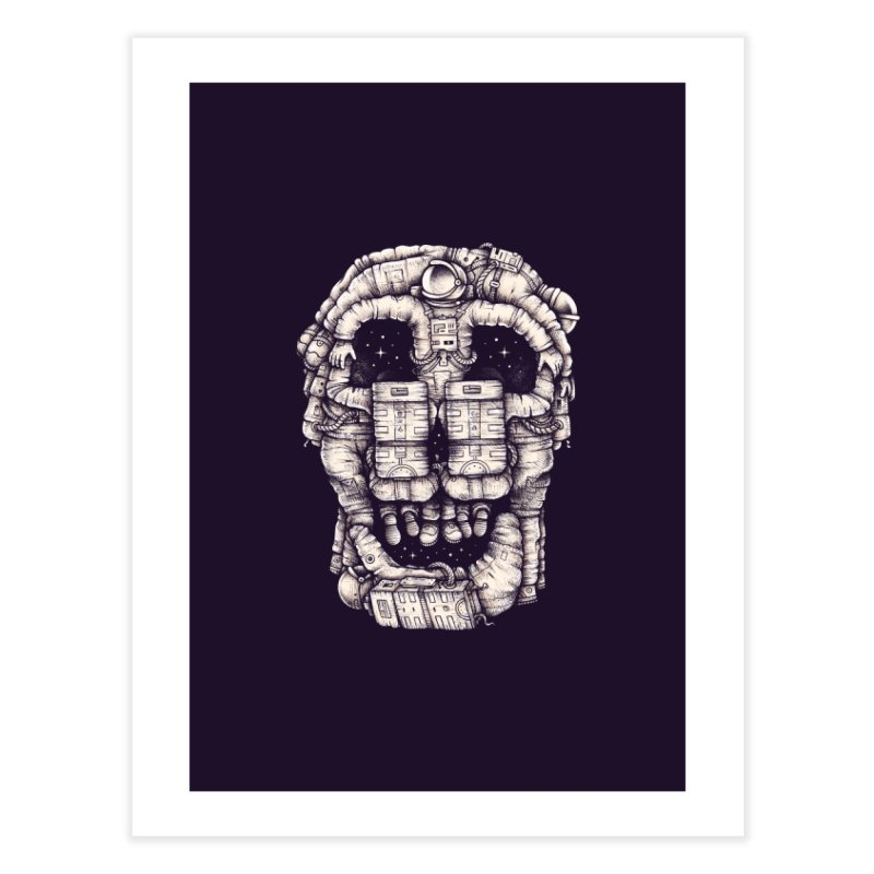 Voluptuous Death Home Fine Art Print by Buko