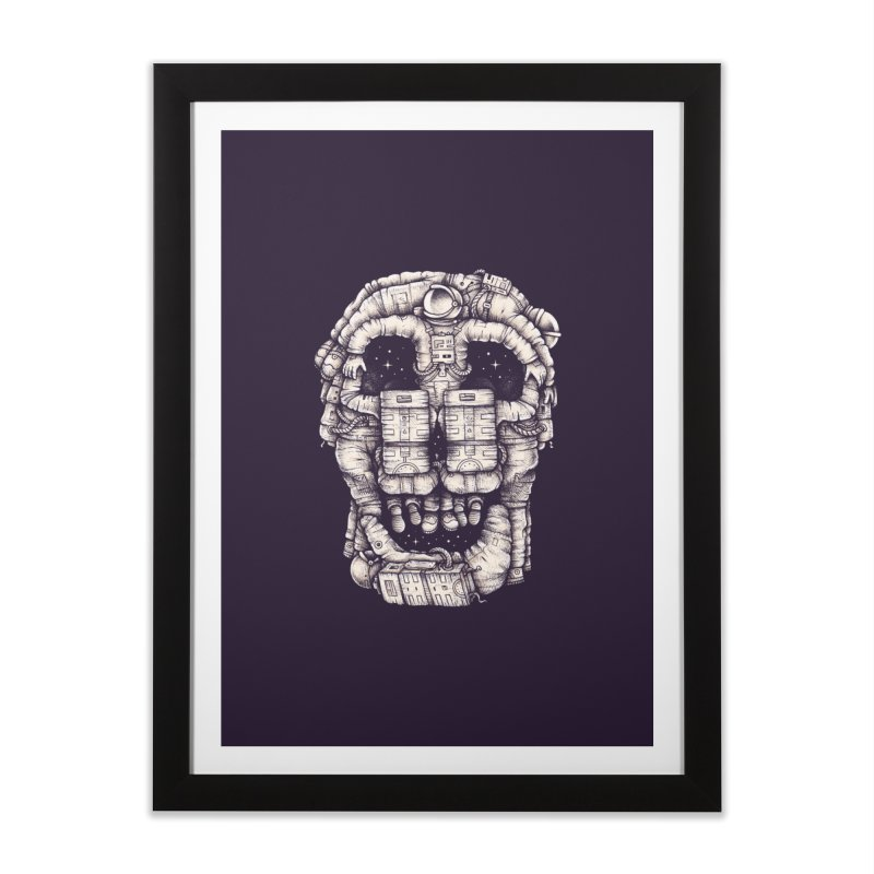 Voluptuous Death Home Framed Fine Art Print by Buko