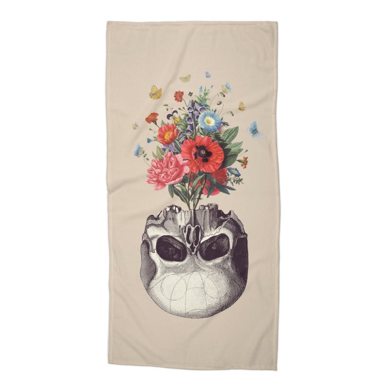 Memento Mori Accessories Beach Towel by Buko