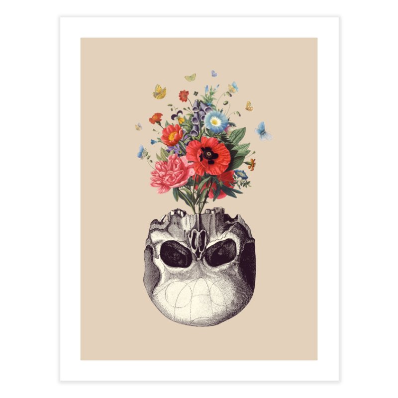 Memento Mori Home Fine Art Print by Buko