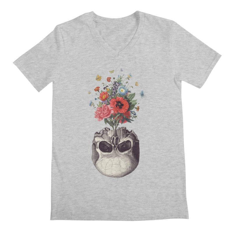Memento Mori Men's V-Neck by Buko