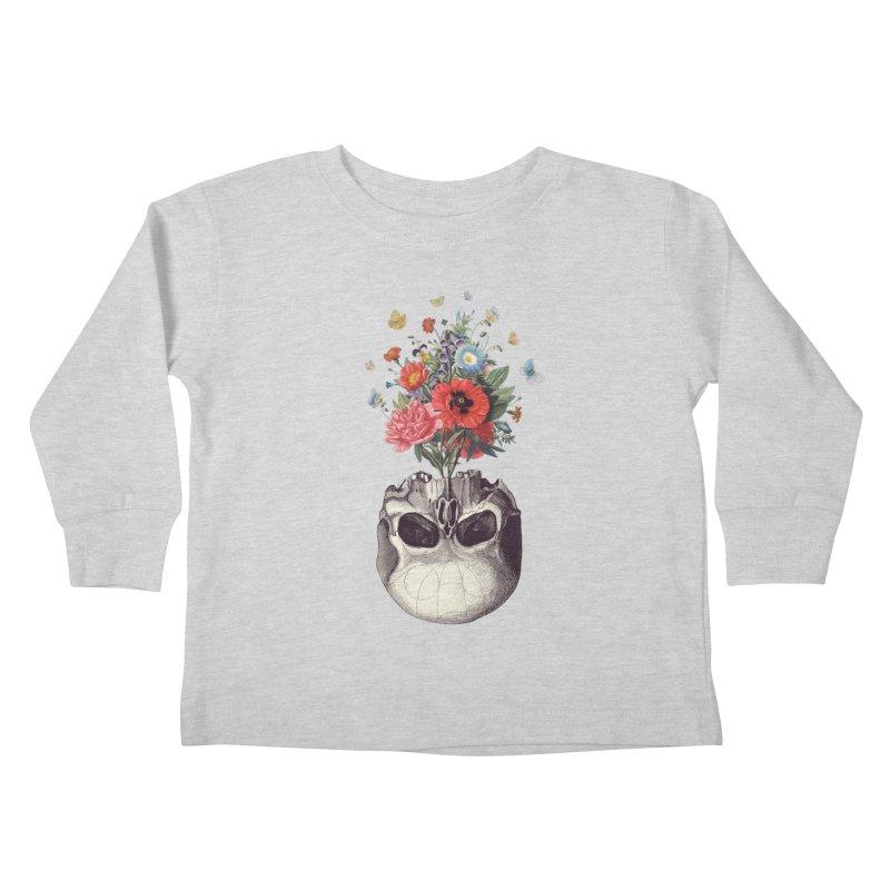 Memento Mori Kids Toddler Longsleeve T-Shirt by Buko