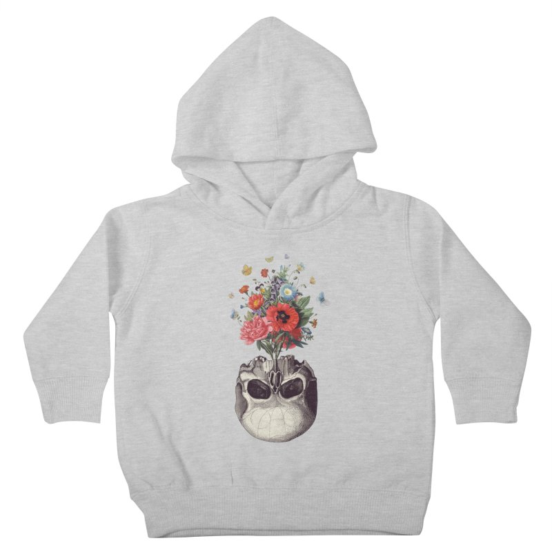 Memento Mori Kids Toddler Pullover Hoody by Buko