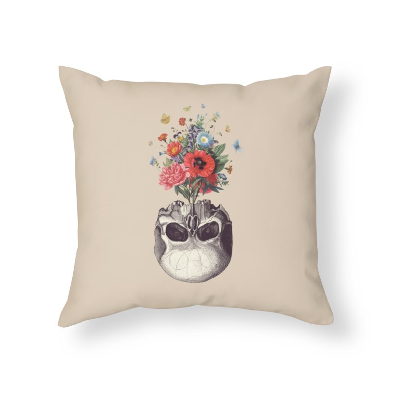 Memento Mori Home Throw Pillow by Buko