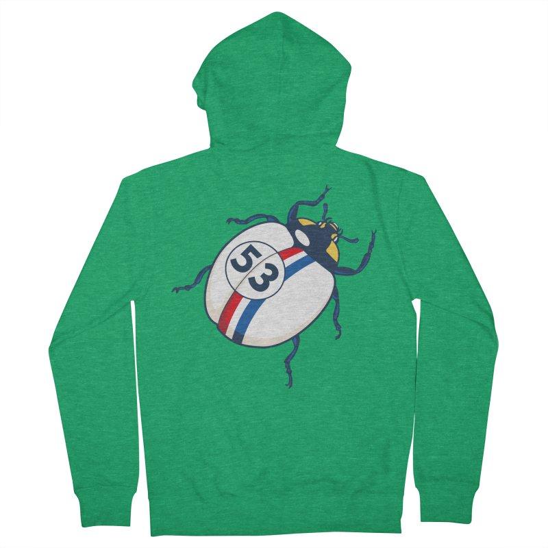 The Love Bug Men's Zip-Up Hoody by The Bulgrin Shop