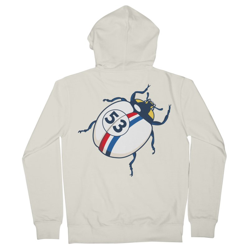 The Love Bug Men's Zip-Up Hoody by The Bulgrin Shop